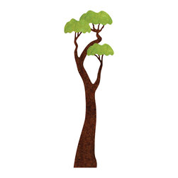 My Wonderful Walls - Jungle Tree Wall Sticker - - giant tree wall sticker