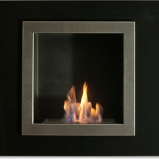 Contemporary Indoor Fireplaces by Liberty Windoors Corp.
