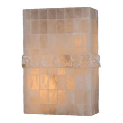 Worldwide Lighting - Pompeii 1 light Flemish Brass Finish Natural Quartz Wall Sconce ADA - This stunning 1-light wall sconce only uses the best quality material and workmanship ensuring a beautiful heirloom quality piece. Featuring a radiant flemish brass finish and natural quartz stone from Spain, this elegant wall sconce will liven up any room. The quartz stone used in this fixture is not mass produced. No synthetic process could replicate the natural beauty of this beautiful quartz wall sconce. Worldwide Lighting Corporation is a premier designer manufacturer and direct importer of fine quality chandeliers, surface mounts, and sconces for your home at a reasonable price. You will find unmatched quality and artistry in every luminaire we manufacture.