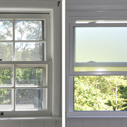 Replacement Vinyl Windows - Change your chilly bathroom window for a more energy efficient window with added privacy. Our obscure glass option allows for natural light to enter your home while maintaining your privacy.