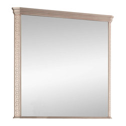 """Macral - London Wall-Framed Mirror, Antique Silver, 32 Inches - London Framed mirror Antique silver, available in 32"""". The price ONLY includes the mirror, all the rest items such as the vanity, the faucet, linen cabinet...are NOT INCLUDED, but can be sold separately."""