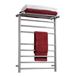 Virtu USA - Virtu USA Koze Collection VTW-122A Towel Warmer - Koze, by Virtu USA, combines technology and comfort to bring you a luxurious european experience with towel warmers. Caress yourself in the coziness of a soft and warm towel after a refreshing shower or a tranquilizing bathe. Koze towel warmers are crafted from quality brushed stainless steel and gracefully finished in a variety of options for a gorgeous appeal.