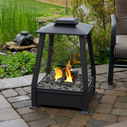 contemporary firepits by Amazon