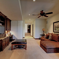 Traditional Home Office by Eagle Luxury Properties