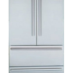 """Liebherr - CS-2062 36"""" 19.6 Cu. Ft. Freestanding French-Door Counter-Depth Refrigerator  Du - Liebherrs 36 wide bottom mount French Door no moving flap refrigerator CS 2062 offers almost 20 cubic feet of capacity to meet all your storage demands Double freezer drawers on telescopic rails ensure convenient storage and easy access capability Ou..."""