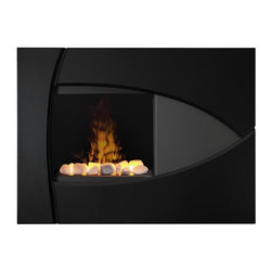 "Dimplex - Dimplex Brayden Opti-Myst Wall Mount Electric Fireplace Multicolor - BBK20R - Shop for Fire Places Wood Stoves and Hardware from Hayneedle.com! This state-of-the-art Dimplex Brayden Opti-Myst Wall Mount Electric Fireplace brings the timeless comfort of fire into your contemporary home. The expressive curves of this gloss black and grey finish surround the unique patented Opti-mist flame. It easily warms any 400 square foot room. Includes remote control.< /p> About DimplexDimplex North America Limited is the world leader in electric heating offering a wide range of residential commercial and industrial products. The company's commitment to innovation has fostered outstanding product development and design excellence. Recent innovations include the patented electric flame technology - the company made history in the fireplace industry when it developed and produced the first electric fireplace with a truly realistic ""wood burning"" flame effect in 1995. The company has since been granted 87 patents covering various areas of electric flame technology and 37 more are pending. Dimplex is a green choice because its products do not produce carbon monoxide or emissions."