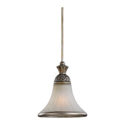 """Sea Gull Lighting - Sea Gull Lighting 61251-824 Highlands Traditional Mini Pendant Light - Includes three interconnecting 12"""" stems, 12"""" chain and canopy."""