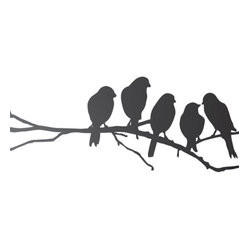 Lovebirds Wall Sticker
