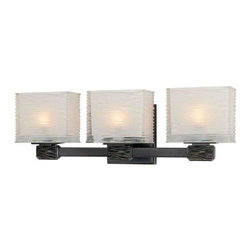 Hudson Valley - Hartsdale Old Bronze Three-Light Bath Light - -Bulbs Included Hudson Valley - 4663-OB