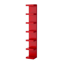 Lack Wall Shelf Unit, Red