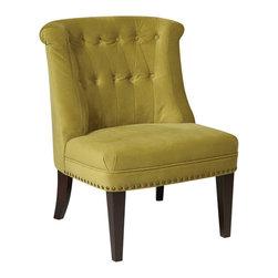 Office Star - Office Star Avenue Six Ventana Chair in Velvet Basil - Ventana Chair in Velvet Basil Chair (1)