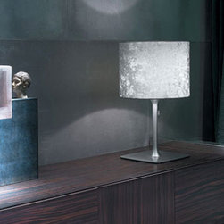 Belinda 10 Table Lamp By Modiss Lighting - Belinda 10 and 20 by Modiss are table lamps that combines fantastic properties of classic velvet fabric shades.