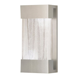 Fine Art Lamps - Crystal Bakehouse Clear Crystal Sconce, 810850-23ST - This sconce supports a hand-crafted block of crystal shards. When the sconce is illuminated, light shines up onto the wall above and down into the crystal, accentuating the internal textures and producing a serenely seductive glow.