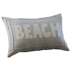 Beach Style Decorative Pillows by Taylor Linens