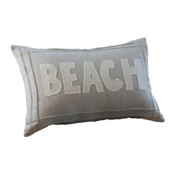 Natural Beach Pillow