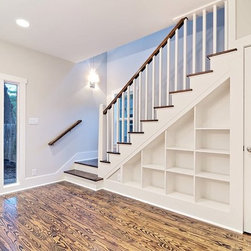 Custom stair and Book shelf -