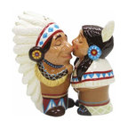 WL - 3.5 Inch Kitchenware Native American Figurines Salt and Pepper Shakers - This gorgeous 3.5 Inch Kitchenware Native American Figurines Salt and Pepper Shakers has the finest details and highest quality you will find anywhere! 3.5 Inch Kitchenware Native American Figurines Salt and Pepper Shakers is truly remarkable.