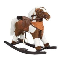 Fifthroom - Plush Cowboy's Dream Rocking Horse -