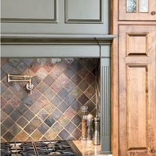 Traditional Kitchen by Harvest House Craftsmen
