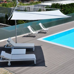 Retractable Sail Awnings by Corradi - Corradi