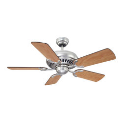 """Savoy House - Savoy House 42-SGC-5RV-SN The Pine Harbor 42"""" Ceiling Fan - A 42"""" ceiling fan for a variety of spaces, Satin Nickel finish with reversible blades."""