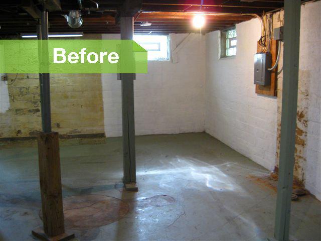 basement of the week modern style converts an empty