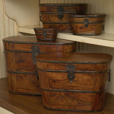 Traditional Decorative Boxes by The Southern Home