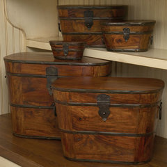 traditional storage boxes by The Southern Home