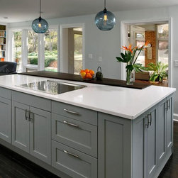Contemporary Kitchen Cabinets Design Remodel - Toledo Cabinets offers ...