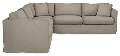 contemporary sectional sofas by Room &amp; Board
