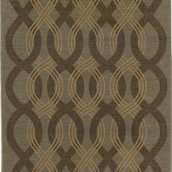Karastan - Karastan Bellingham 37150-17218 (Humboldt Celadon) 8' x 10' Rug - The Bellingham Collection features muted vintage tones that can easily inspire any decor from casual to traditional. Bancroft Beige is an ornamental patchwork overlaid with tendrils of foliage in a neutral palette.