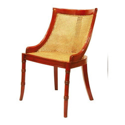 EuroLux Home - Set/6 Reproduction Dining Chairs Spoonback - Product Details