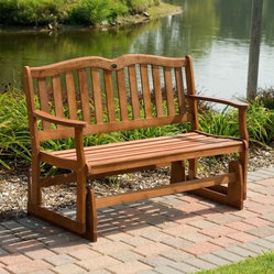 Jordan Manufacturing Alpine 4-ft. Double Seat Glider Bench