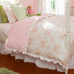 Shabby Chenille Duvet Cover - Available in twin and queen sizes
