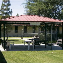 Fifthroom - 16' x 20' All Steel Rectangular Summerset Pavilion -