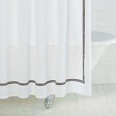 Italian Hotel Stitch shower curtain