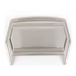 Alno Inc. - Alno Creations 4 Inch Cup Pull Satin Nickel A429-Sn - Alno Creations 4 Inch Cup Pull Satin Nickel A429-Sn