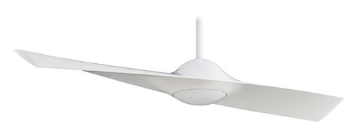 """Minka Aire - Minka Aire F823-WH Wing High Gloss White 52"""" Modern Ceiling Fan + Remote Control - Features:"""