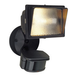 Designers Fountain - Designers Fountain PH124 Single Light Outdoor Motion Detector Flood Light with a - Features: