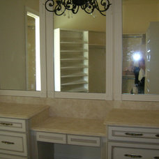 Traditional Makeup Mirrors by Custom Granite Rocks,Inc.