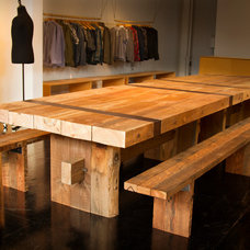 Modern Dining Tables by Design Vessel Construction LLC