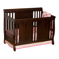 Stork Craft - Stork Craft Verona Fixed Side 4-in-1 Convertible Crib in Espresso - Stork Craft - Cribs - 04587489 - The charming Verona 4 in 1 Fixed Side Convertible Crib by Stork Craft surrounds your little sweetie in comfort and style! All four sides are stationary and include an adjustable mattress support base to accommodate your babies growth.  The Verona is a smart investment as it converts from a standard crib to a toddler bed to a daybed and finally into a full-size bed complete with headboard and footboard (full size bed rails not included).  It has a well built construction made of solid wood and wood products offered in a selection of non toxic durable finishes. Complete your nursery look by adding an assortment of matching accessories: a changing table chest dresser or glider and ottoman by Stork Craft.