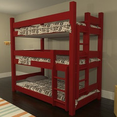 Traditional Bunk Beds by Maine Bunk Beds