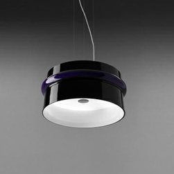 Aro Pendant Lamp By Leucos Lighting - The Aro Pendant Lamp from Leucos is a beautiful, and large-scale suspension design in blown Venetian crystal.