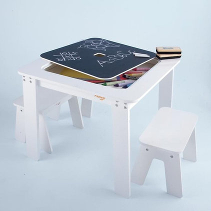 Modern Kids Tables And Chairs by The Land of Nod