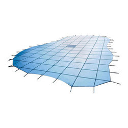 Blue Wave - Blue Wave 16X40 12Yr Solid Safety Green - 12-year mesh Arctic Armor safety cover guards your children & pets as it protects your pool! Durable, long-lasting Arctic Armor covers are strong enough to support your entire family, yet light enough to put on or remove from your pool in five minutes or less. Arctic armor covers are made of super-strong two-ply mesh with a break strength of over 4,000 lbs. During use, the cover is held in place with brass anchors. These anchors recess flush with the deck when the cover is not in use. Rest assured that your children and pets are protected from accidental drowning. In addition to its safety features, Arctic Armor affords excellent winter protection for your pool.