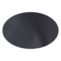 """Huddleson - Slate Grey Linen Tablecloth 120"""" Round - Slate Grey Italian Linen round Tablecloth.  Not all linens are created equal. The Italian linen Huddleson uses to make our napkins, tablecloths, placemats and runners is the finest quality available."""