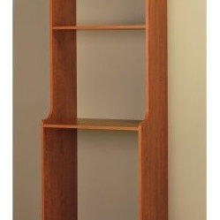 Easy Track Closet Cherry Hanging Hutch Kit - RV2072-C - About Easy Track Easy Track is designed ...