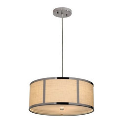 Trend Lighting - Trend Lighting TP7599 Polished Chrome Pendant from the Butler Collection - Trend Lighting TP7599 Features: