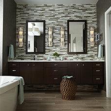 Traditional Bathroom Vanity Lighting by Lewis Lighting & Home